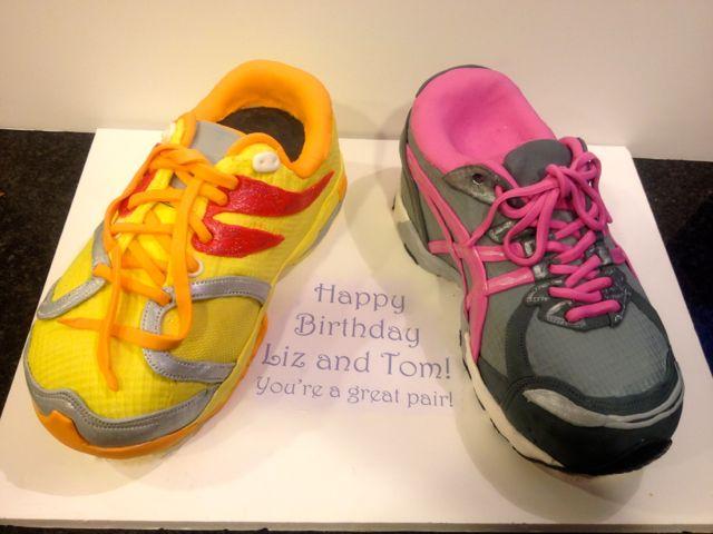 Running Shoe Cakes Enchanted Icing