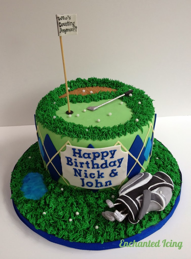 How To Make A Golf Cake For A Birthday
